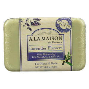 A La Maison - Bar Soap - Lavender Flowers - 8.8 Oz