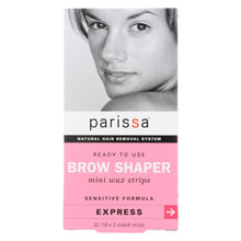 Load image into Gallery viewer, Parissa Natural Hair Removal System Brow Shaper - 32 Strips