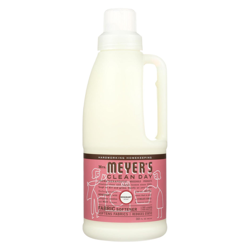 Mrs. Meyer's Clean Day - Fabric Sofenter - Rosemary - Case Of 6 - 32 Oz