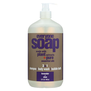 Eo Products - Everyone Liquid Soap Lavender And Aloe - 32 Fl Oz