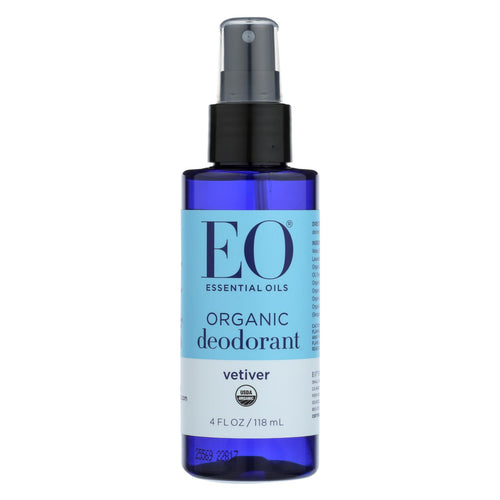 Eo Products - Organic Deodorant Spray Vetiver - 4 Fl Oz