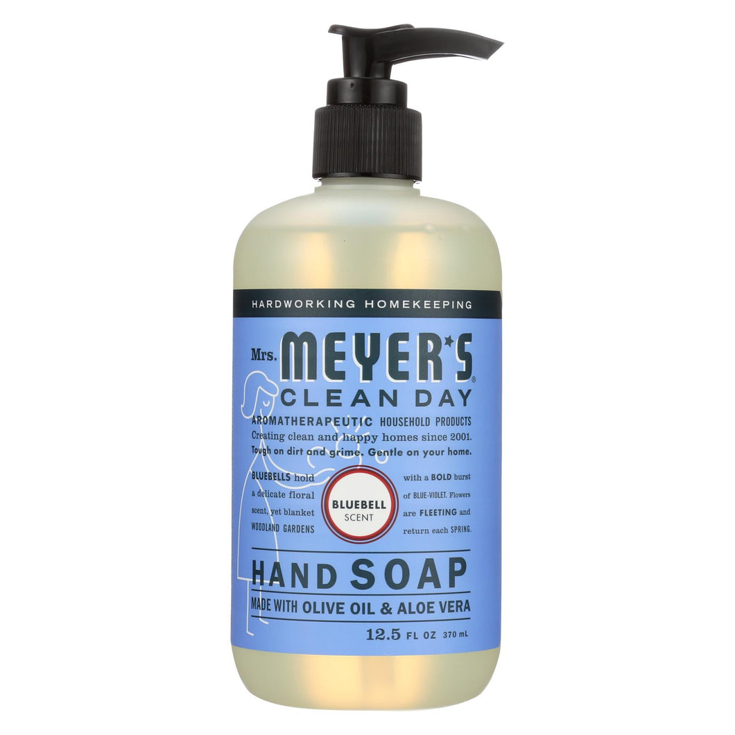 Mrs. Meyer's Clean Day - Liquid Hand Soap - Bluebell - Case Of 6 - 12.5 Oz