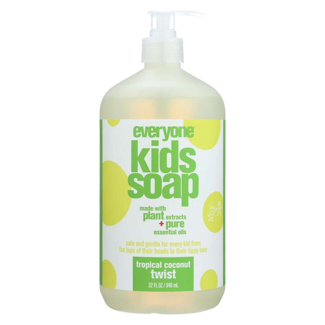 Eo Products - Everyone Soap For Kids - Tropical Coconut Twist - 32 Oz