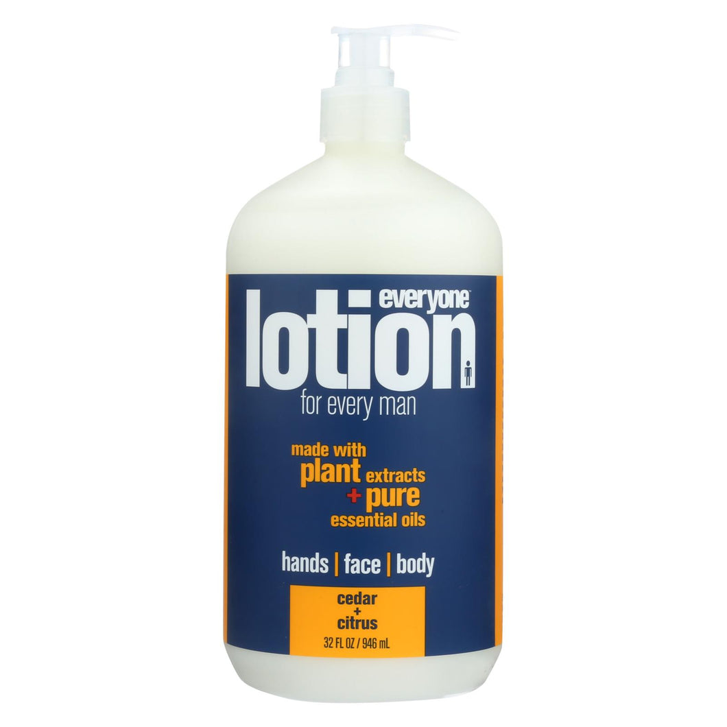 Eo Products - Everyone Lotion - Men Cedar And Citrus - 32 Oz