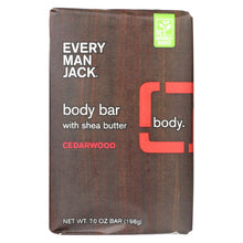 Load image into Gallery viewer, Every Man Jack Bar Soap - Body Bar - Cedarwood - 7 Oz - 1 Each