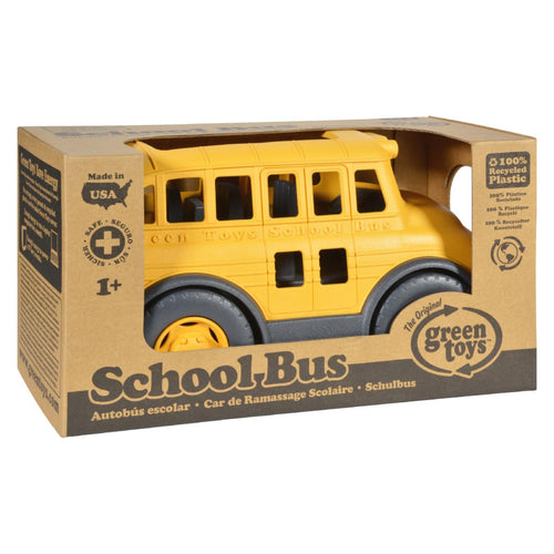 Green Toys School Bus - Yellow