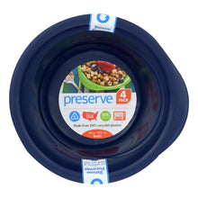 Load image into Gallery viewer, Preserve Everyday Bowls - Midnight Blue - 4 Pack - 16 Oz