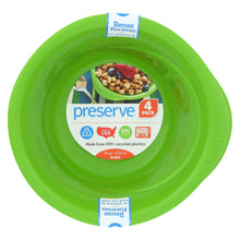 Load image into Gallery viewer, Preserve Everyday Bowls - Apple Green - 4 Pack - 16 Oz