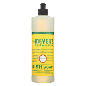 Mrs. Meyer's Clean Day - Liquid Dish Soap - Honeysuckle - 16 Oz