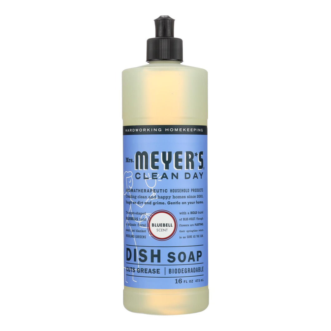 Mrs. Meyer's Clean Day - Liquid Dish Soap - Bluebell - 16 Oz