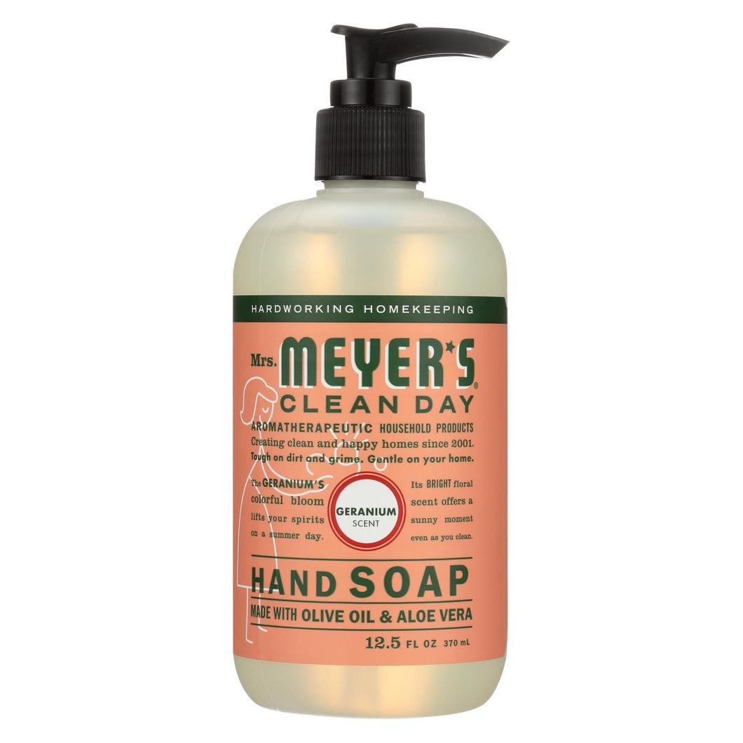 Mrs. Meyer's Clean Day - Liquid Hand Soap - Geranium - 12.5 Oz