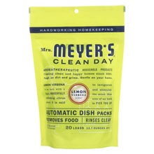 Load image into Gallery viewer, Mrs. Meyer's Clean Day - Automatic Dishwasher Packs - Lemon Verbena - 12.7 Oz
