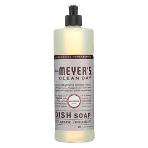 Mrs. Meyer's Clean Day - Liquid Dish Soap - Lavender - 16 Oz