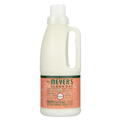 Mrs. Meyer's Clean Day - Fabric Softener - Geranium - 32 Oz