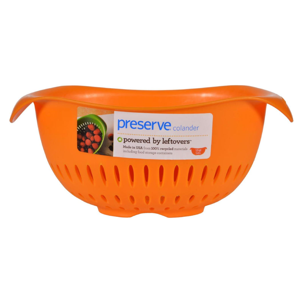 Preserve Small Colander - Orange - 1.5 Qt