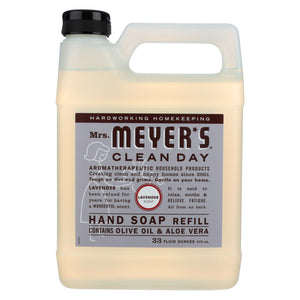 Mrs. Meyer's Clean Day - Liquid Hand Soap Refill - Lavender - 33 Fl Oz