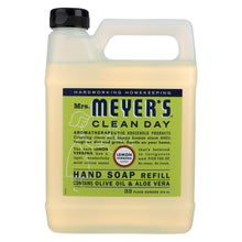 Load image into Gallery viewer, Mrs. Meyer's Clean Day - Liquid Hand Soap Refill - Lemon Verbena - 33 Fl Oz