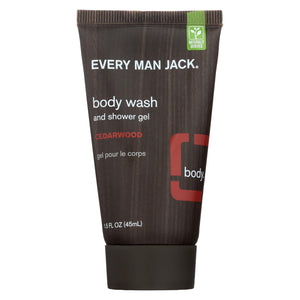 Every Man Jack Body Wash Cedar Wood - Body Wash - 1 Fl Oz.