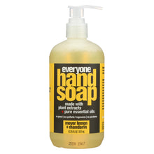 Load image into Gallery viewer, Eo Products - Everyone Hand Soap - Meyer Lemon And Mandarin - 12.75 Oz