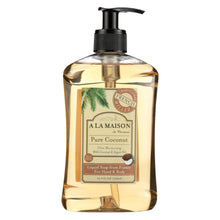 Load image into Gallery viewer, A La Maison - French Liquid Soap - Coconut - 16.9 Oz