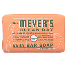 Load image into Gallery viewer, Mrs. Meyer's Clean Day - Bar Soap - Geranium - 5.3 Oz - Case Of 12