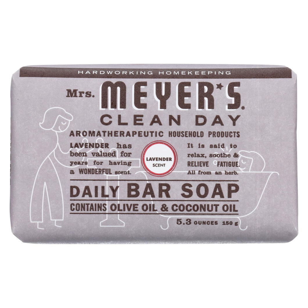 Mrs. Meyer's Clean Day - Bar Soap - Lavender - 5.3 Oz