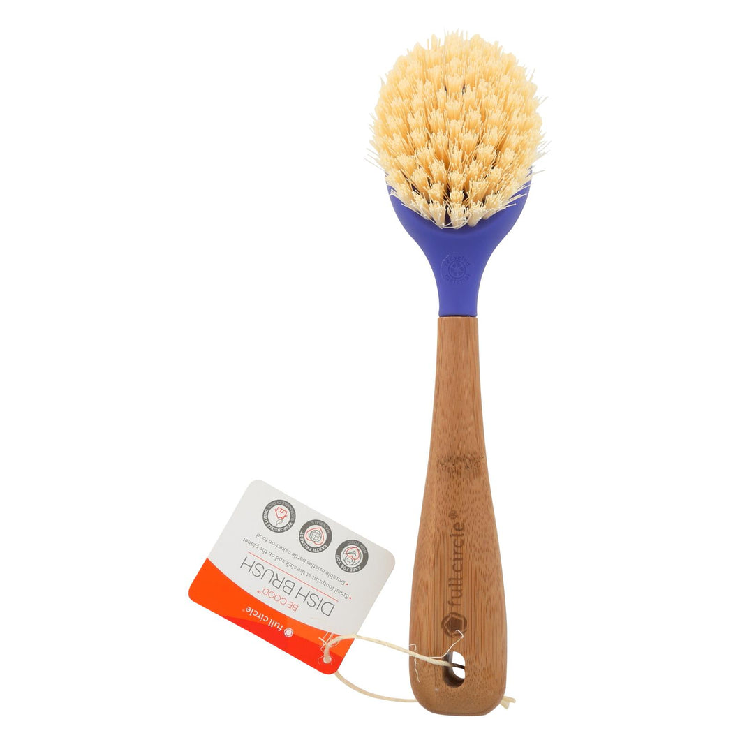 Full Circle Home Dish Brush - Be Good Purple - 12 Ct