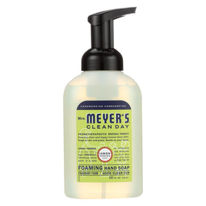 Mrs. Meyer's Clean Day - Foaming Hand Soap - Lemon Verbena - Case Of 6 - 10 Fl Oz