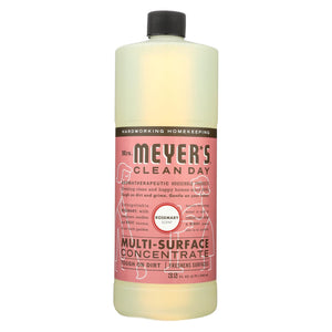 Mrs. Meyer's Clean Day - Multi Surface Concentrate - Rosemary - 32 Fl Oz - Case Of 6