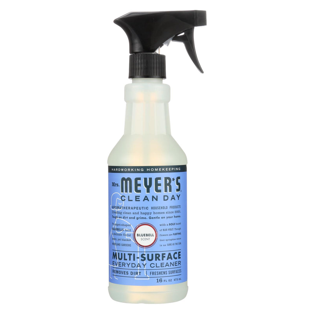 Mrs. Meyer's Clean Day - Multi-surface Everyday Cleaner - Blubell - 16 Fl Oz - Case Of 6