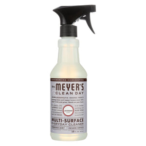 Mrs. Meyer's Clean Day - Multi-surface Everyday Cleaner - Lavender - 16 Fl Oz - Case Of 6
