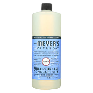 Mrs. Meyer's Clean Day - Multi Surface Concentrate - Blubell - 32 Fl Oz