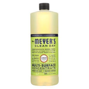 Mrs. Meyer's Clean Day - Multi Surface Concentrate - Lemon Verbena - 32 Fl Oz