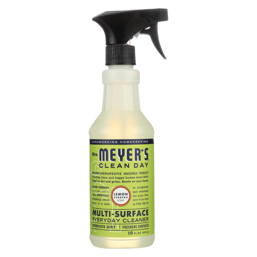 Mrs. Meyer's Clean Day - Multi-surface Everyday Cleaner - Lemon Verbena - 16 Fl Oz