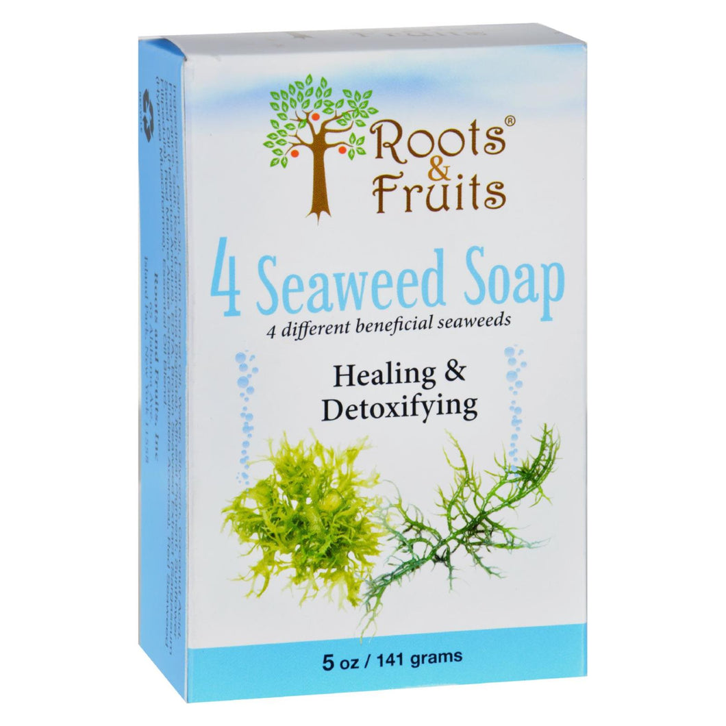 Roots And Fruits Bar Soap - 4 Seaweed - 5 Oz