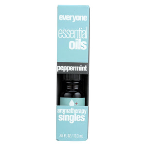 Eo Products - Everyone Aromatherapy Singles - Essential Oil - Peppermint - .5 Oz