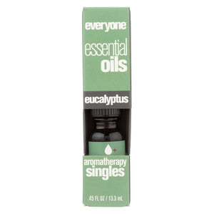 Eo Products - Everyone Aromatherapy Singles - Essential Oil - Eucalyptus - .5 Oz