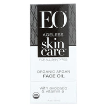 Load image into Gallery viewer, Eo Products - Argan Face Oil - Organic - Ageless - 1 Oz - 1 Each