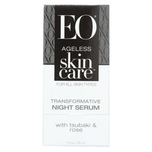 Load image into Gallery viewer, Eo Products - Face Night Serum - Ageless - Transformative - 1 Oz - 1 Each