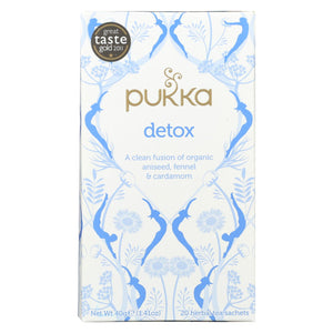 Pukka Herbal Teas Tea - Organic - Herbal - Detox - 20 Bags - Case Of 6