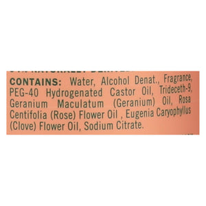 Mrs. Meyer's Clean Day - Room Freshener - Geranium - Case Of 6 - 8 Oz