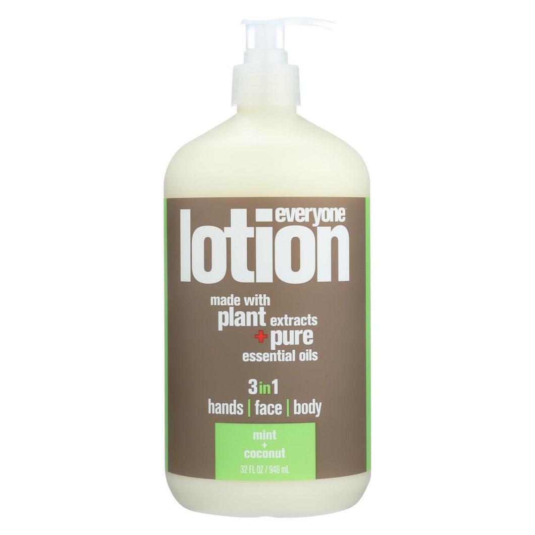Eo Products - Lotion - Mint And Coconut - 32 Fl Oz.