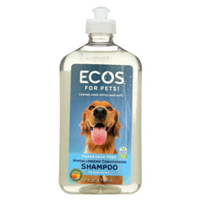 Load image into Gallery viewer, Ecos - Hypoallergenic Conditioning Pet Shampoo - Fragrance Free - 17 Fl Oz.