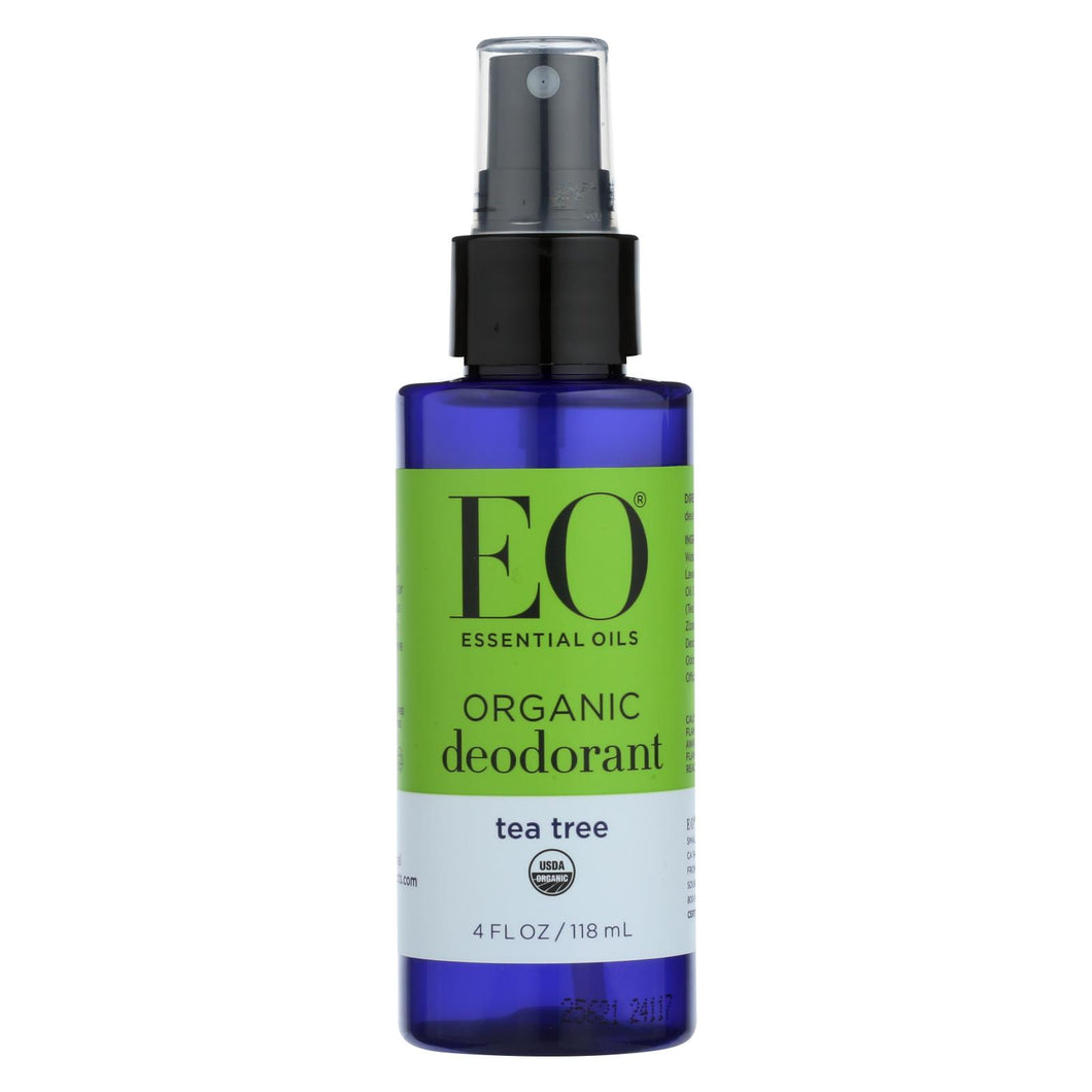 Eo Products - Deodorant Spray - Tea Tree - 4 Fl Oz.