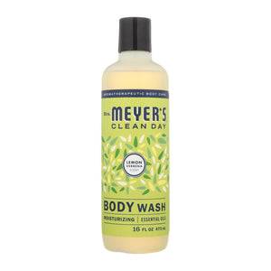Mrs. Meyer's Clean Day - Body Wash - Lemon Verbena - Case Of 6 - 16 Fl Oz