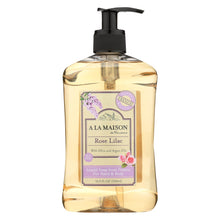 Load image into Gallery viewer, A La Maison - Liquid Hand Soap - Rose Lilac - 16.9 Fl Oz.