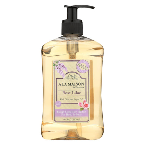 A La Maison - Liquid Hand Soap - Rose Lilac - 16.9 Fl Oz.