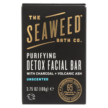 Load image into Gallery viewer, The Seaweed Bath Co Soap - Bar - Detox - Facial - 3.75 Oz