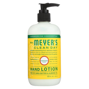 Mrs. Meyer's Clean Day - Hand Lotion - Honeysuckle - Case Of 6 - 12 Fl Oz