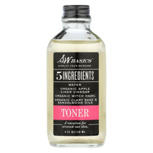Load image into Gallery viewer, S.w. Basics - 5 Ingredients Toner - 4 Fl Oz.